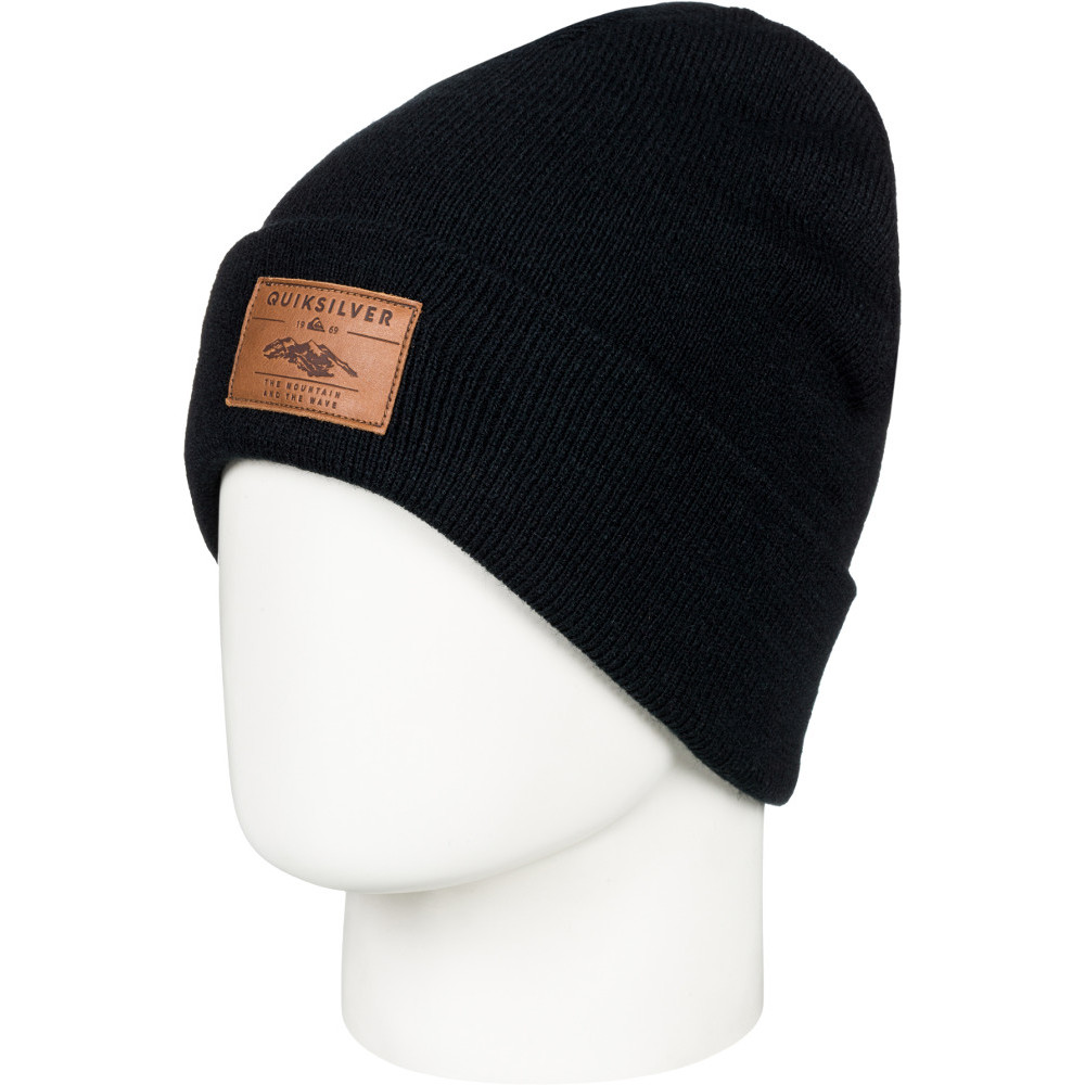 35b4d01f8ac Quiksilver Mens Brigade Warm Winter Ski Beanie Hat