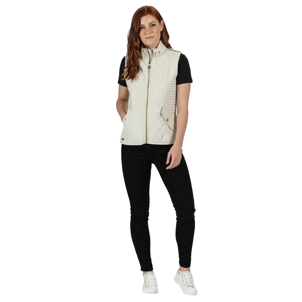 Regatta Womens Carita Insulated Quilted Fully Lined With Back Vents Bodywarmers