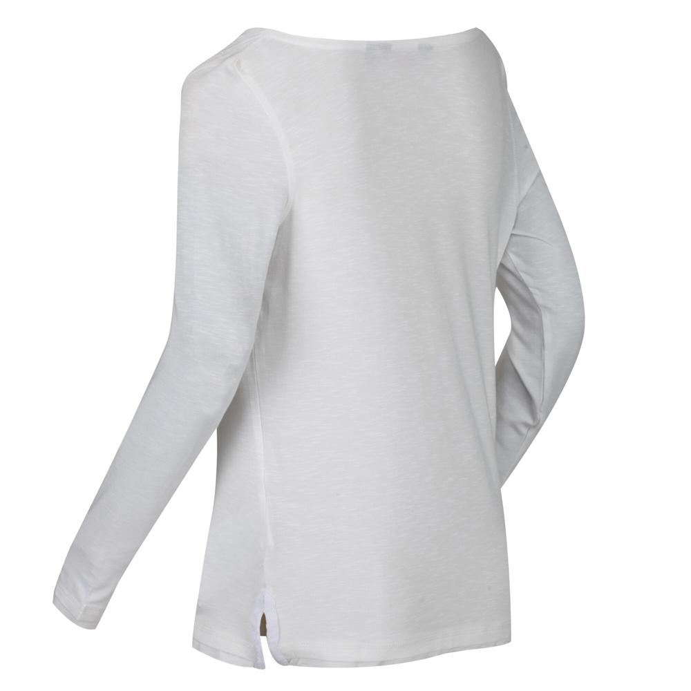 Regatta Womens Frayler Cowl Neck Long Sleeve Slub Jersey Top