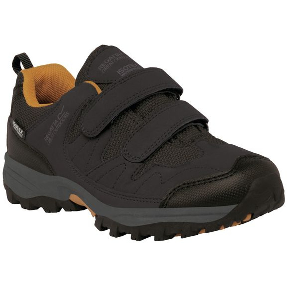 Regatta Boys Helmshore Low Durable Velcro Durable Isotex Walking Shoes | EBay