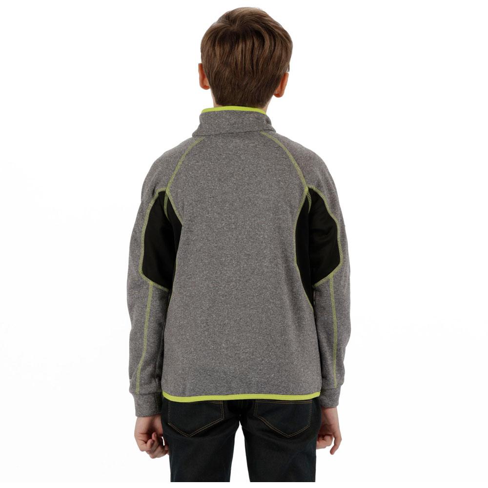 Regatta-Boys-amp-Girls-Limit-II-Warm-Backed-Knitted-Stretch-Jacket-Top thumbnail 8