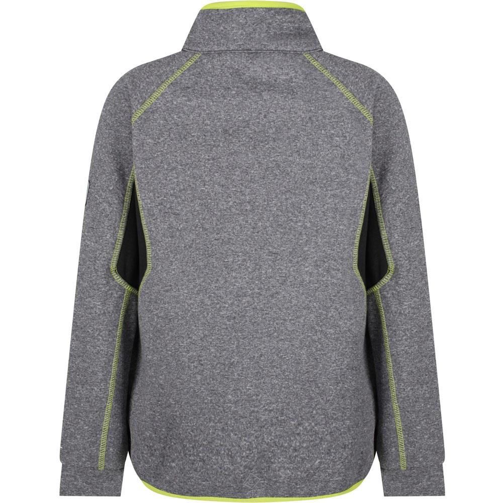 Regatta-Boys-amp-Girls-Limit-II-Warm-Backed-Knitted-Stretch-Jacket-Top thumbnail 10