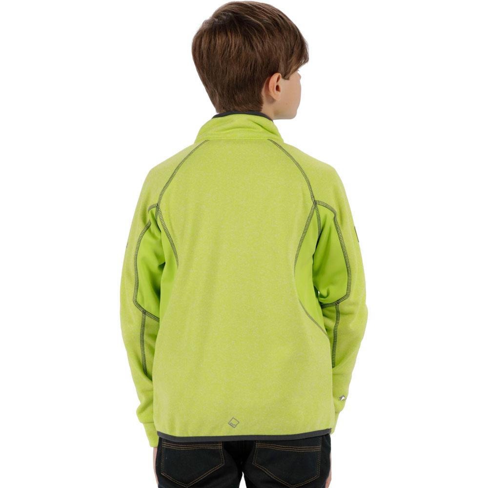 Regatta-Boys-amp-Girls-Limit-II-Warm-Backed-Knitted-Stretch-Jacket-Top thumbnail 6