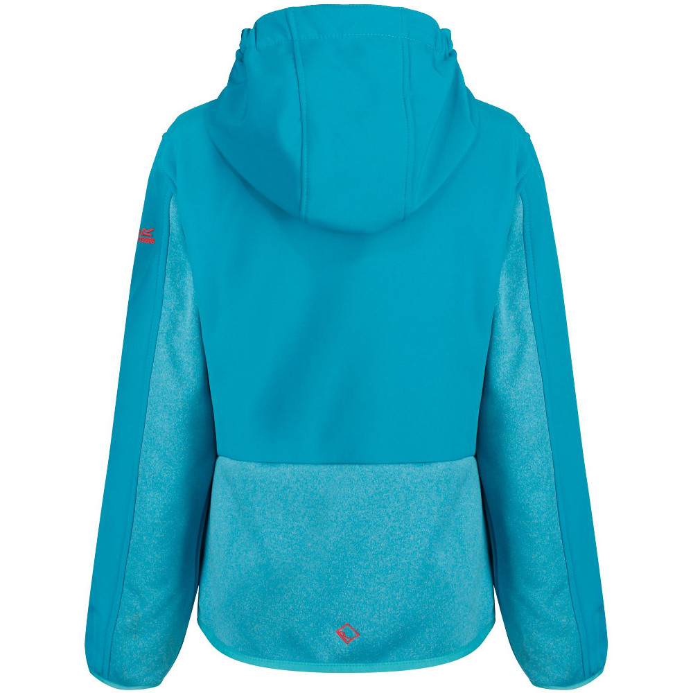 Regatta Boys /& Girls Bracknell Hooded Softshell Jacket
