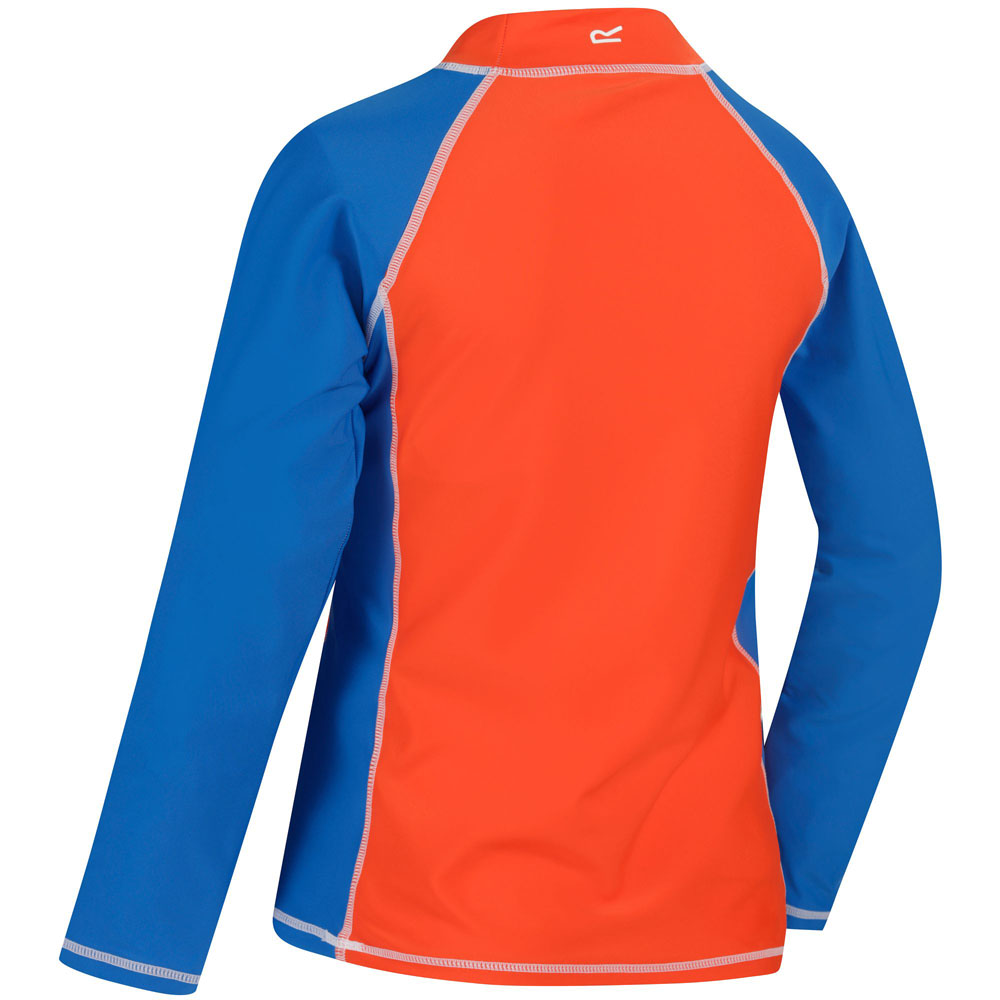 Regatta garçons /& filles Hobey Uv Protection Manches Longues Plain T-Shirt