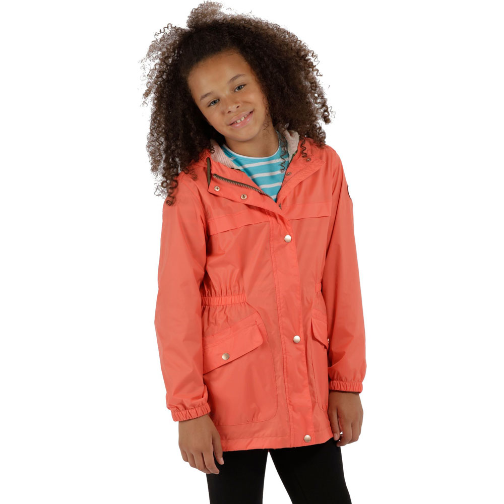 5a8cf648b Regatta Boys   Girls Trifonia Waterproof Breathable Coat Jacket 11 ...