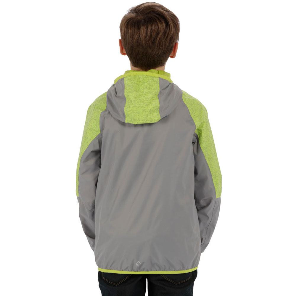 c531ba234 Regatta Boys   Girls Teega Waterproof Light Breathable Coat Jacket ...