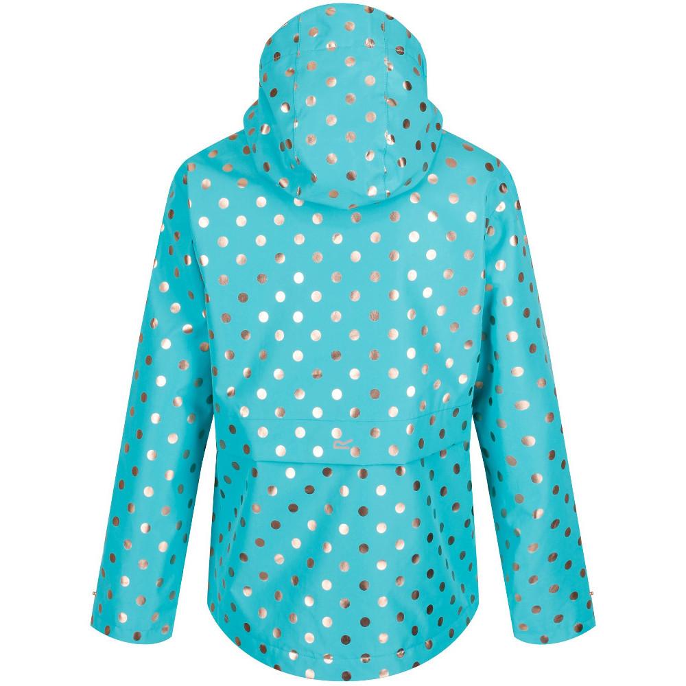 Regatta Girls Bambalina Waterproof Hooded Jacket Coat