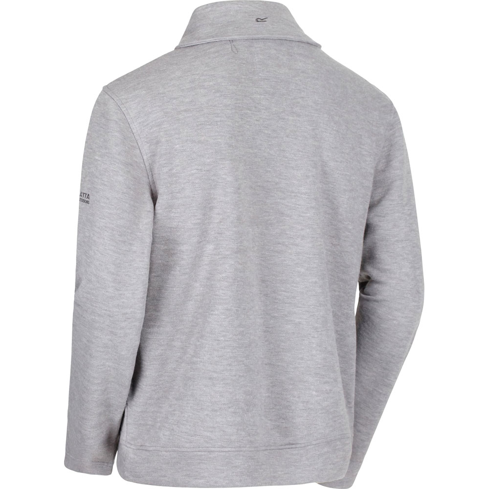 Regatta Mens Travon Double Side Polyester Shawl Collar Sweatshirt Top