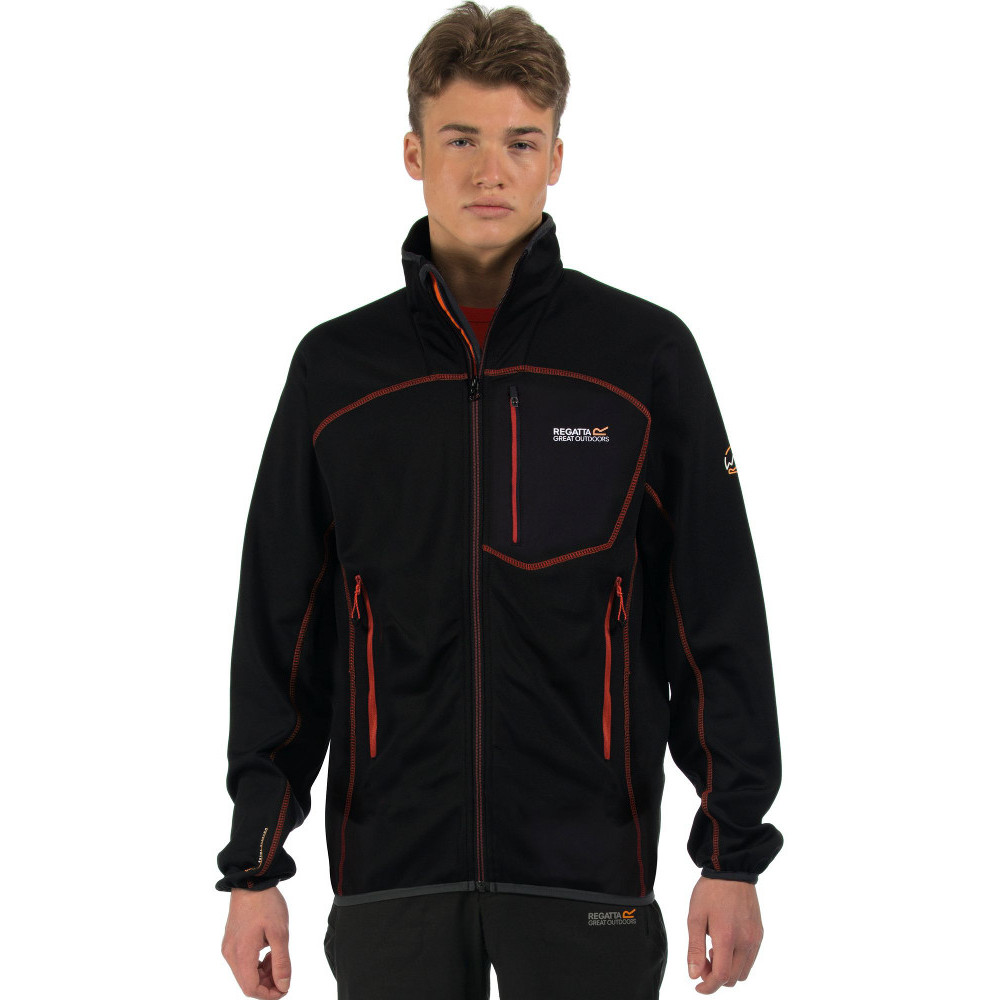 Regatta-Mens-Diego-II-Warm-Lightweight-Stretch-Softshell-Jacket