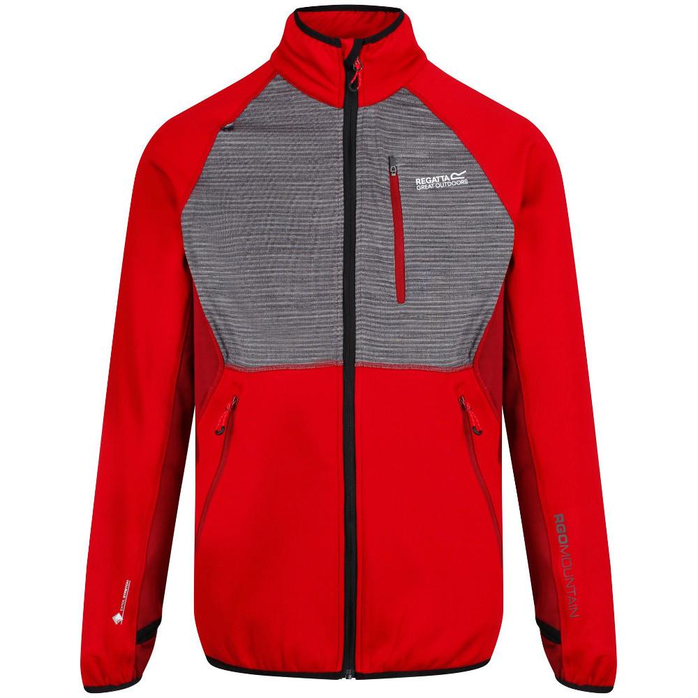 Regatta Mens Yare Extol Warm Backed Knitted Stretch Zip Pocket Jacket