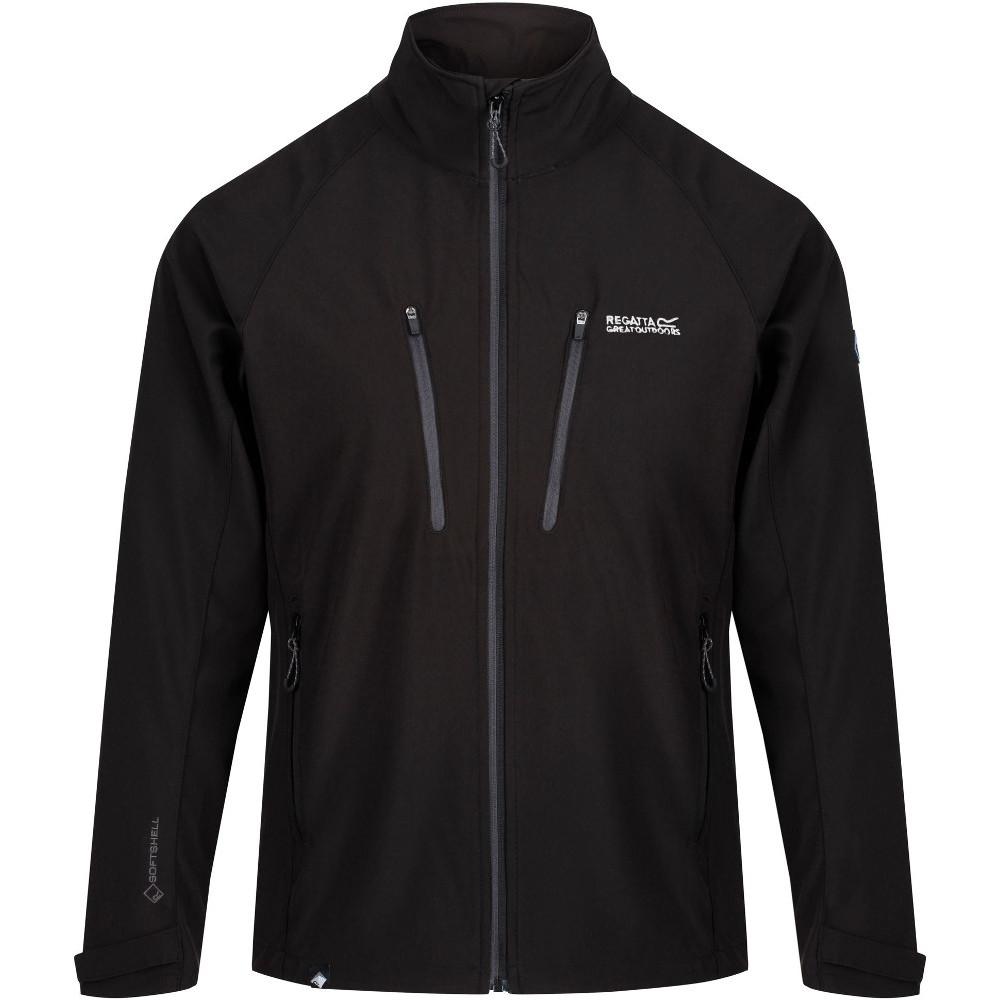 Regatta Mens Nielson V Lightweight Softshell Zip Up Jacket