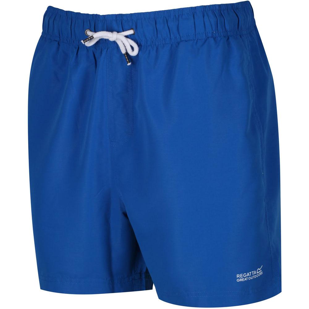 Regatta-Mens-Mawson-Classic-Drawstring-Polyester-Swim-Shorts