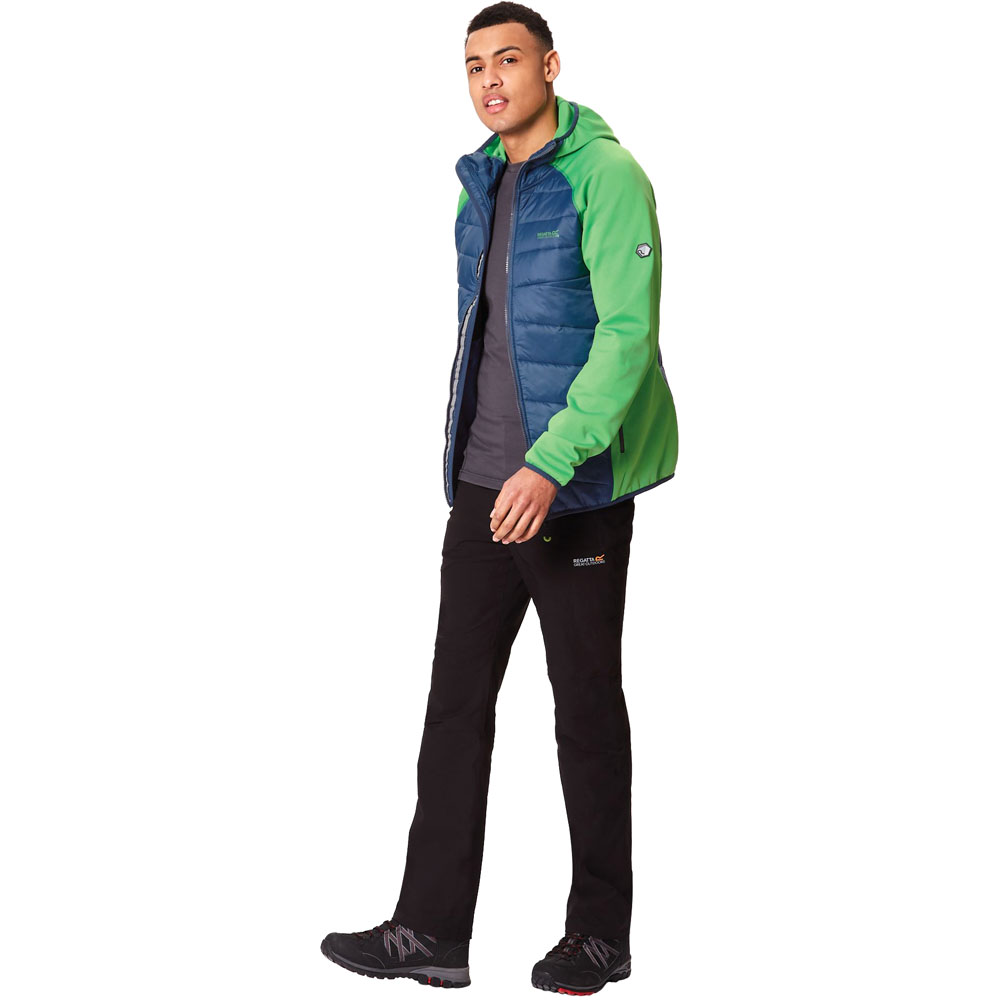 Regatta Homme Andreson III Hybrid Stretch Léger Manteau isotherme