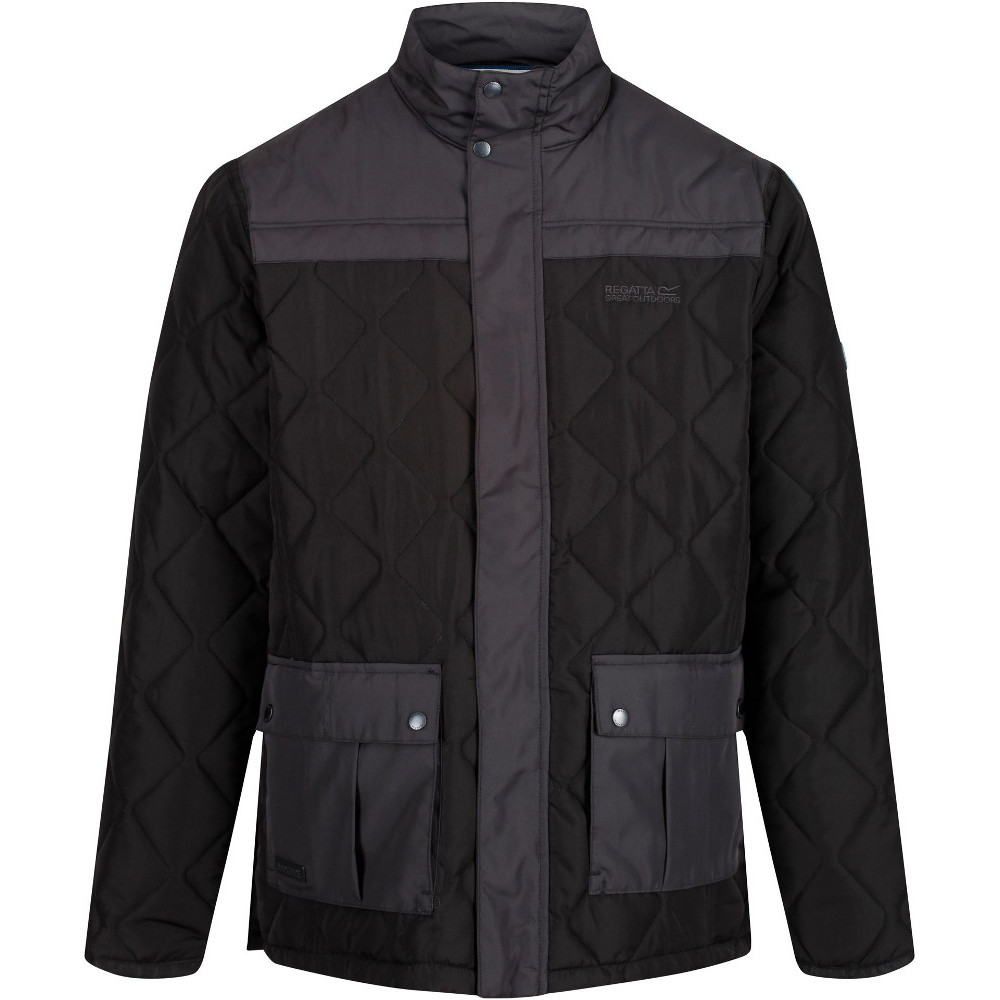 Regatta Mens Lachlan Quilted Water Repellent Jacket