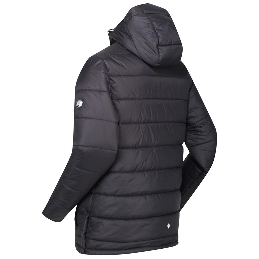 Regatta Mens Spenlow Lightweight Insulated Hooded Walking Jacket Brunswick Blue
