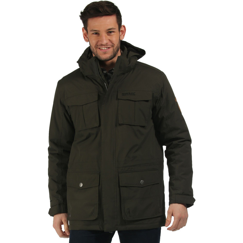 Regatta Mens Penkar Waterproof Windproof Insulated Jacket | eBay