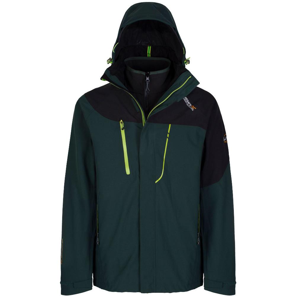 Mens regatta jacket - Regatta Mens Sacramento Ii Waterproof Breathable 3 In