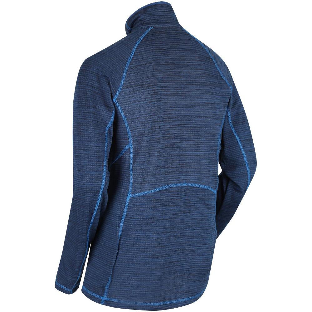 Regatta Mens Yonder Quick Dry Moisture Wicking Half Zip Fleece Jacket