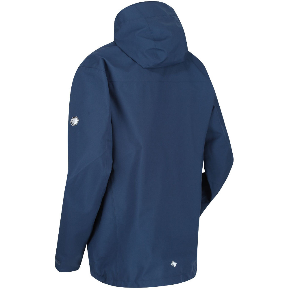 Regatta Mens Birchdale Isotex Breathable Waterproof Stretch Jacket 63/% OFF RRP