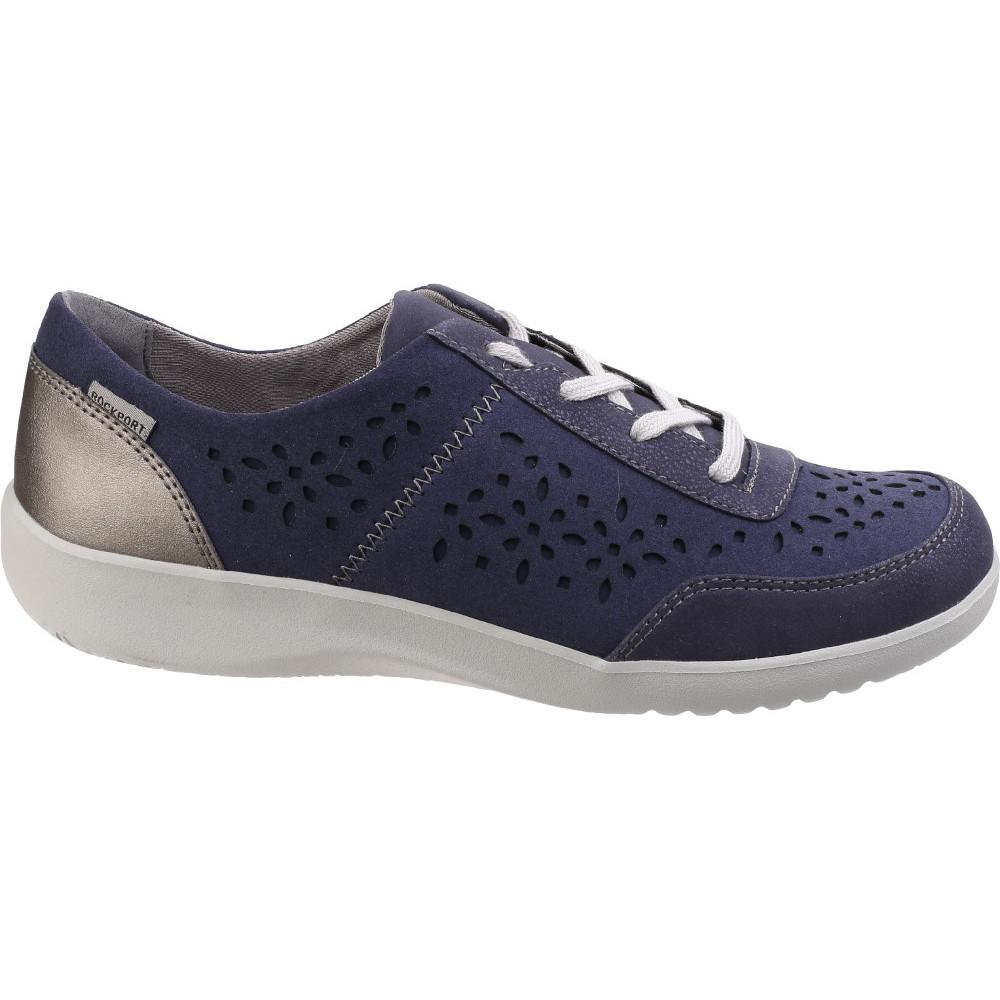 Rockport Mujer Dama Zapatos emalyn Corbata Ligero Zapatos Dama Con Cordones Textil 5f85ca