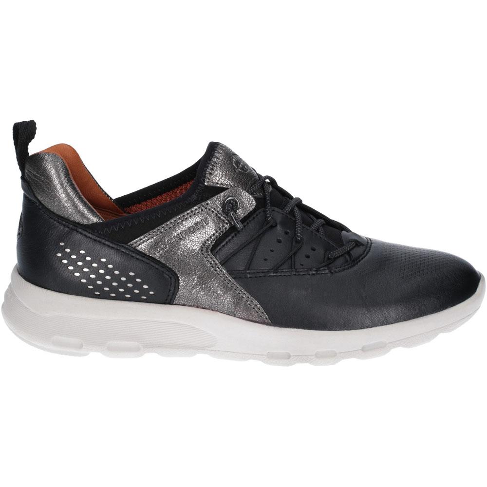 Rockport damen Lets Lets Lets Walk Flexible Leather Bungee Trainers   f25f85