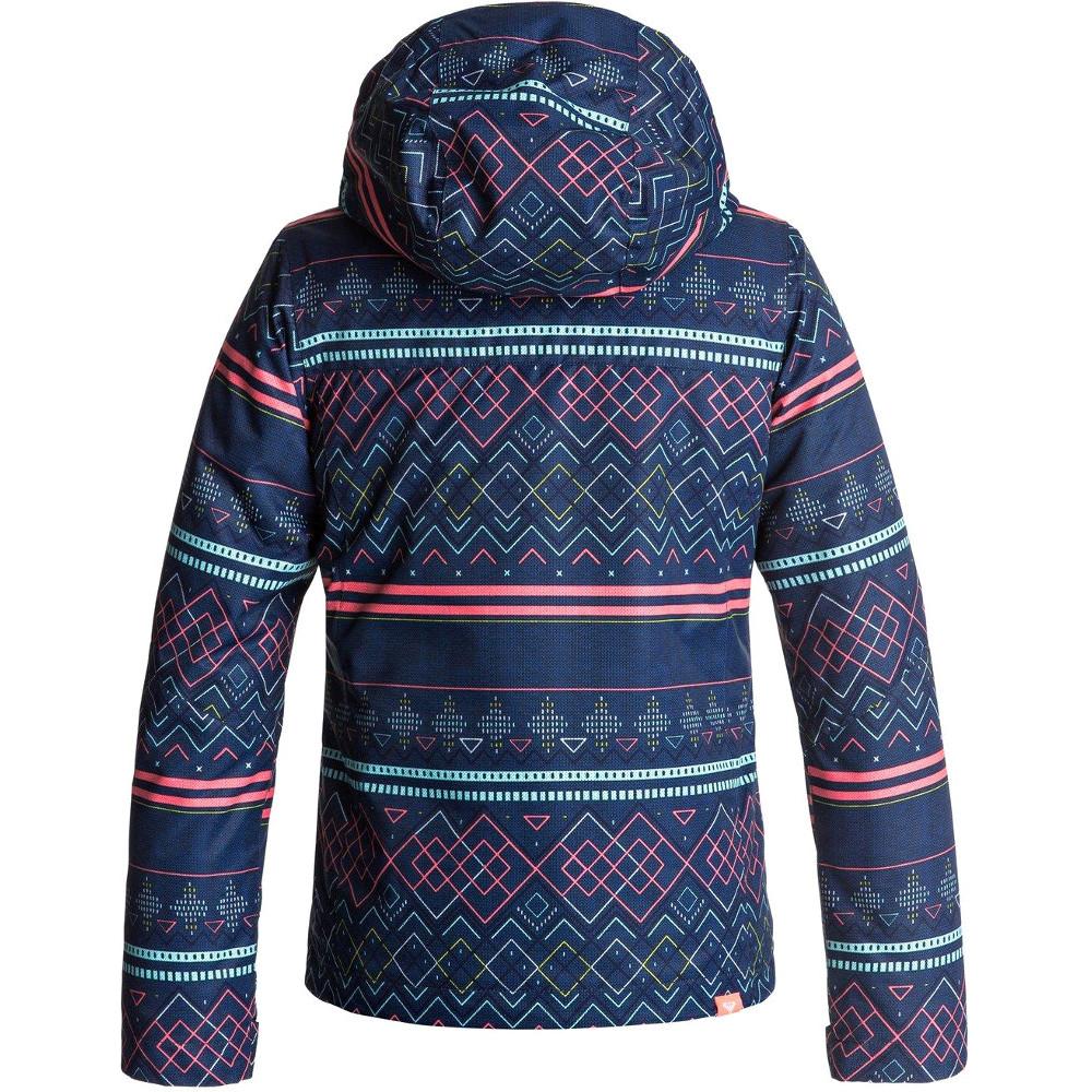 ddd443b320b Roxy Clothing Girls Jetty Waterproof Insulated Taffeta Ski Jacket ...