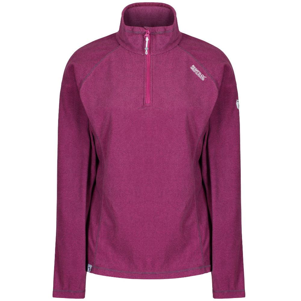 Regatta Womens//Ladies Montes Half Zip Lightweight Microfleece Top
