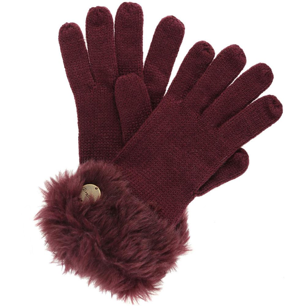 a9c4d5b241d51 Image is loading Regatta-Womens-Ladies-Luz-Sweater-Knit-Fur-Trimmer-