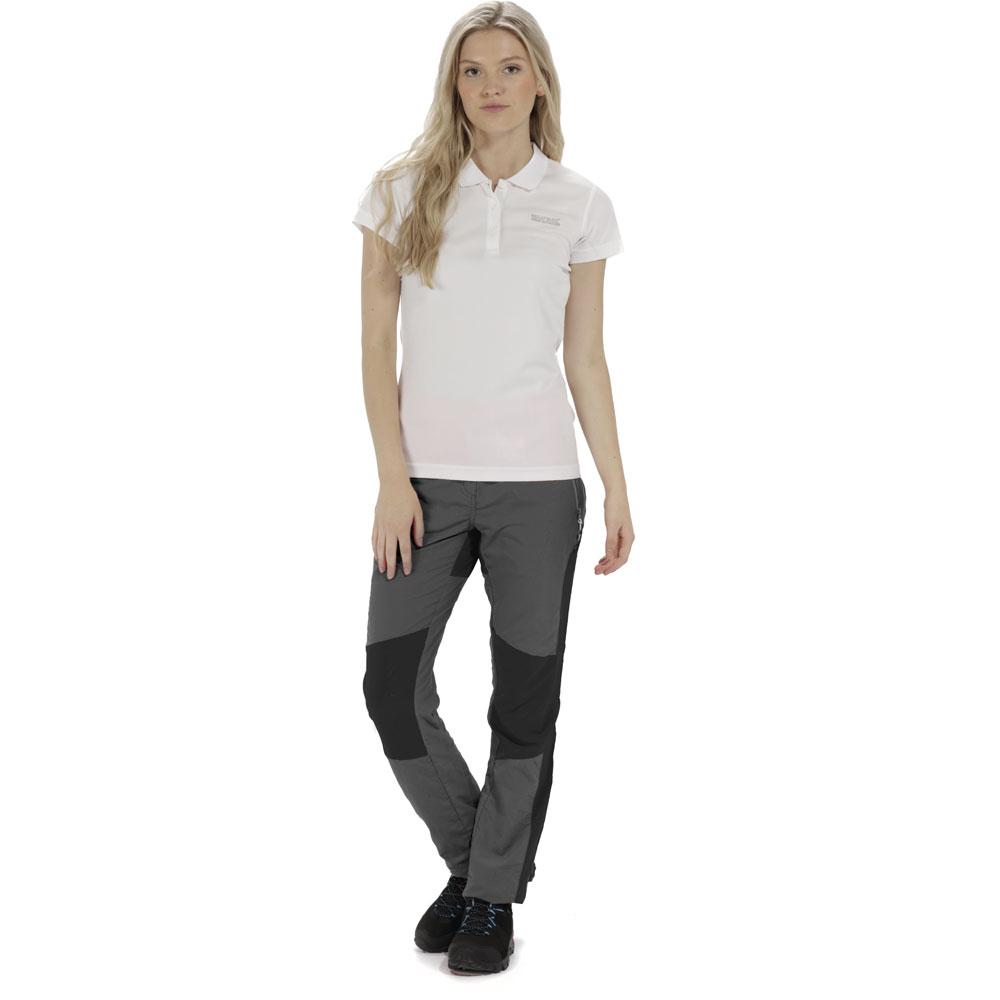Regatta Women/'s Chaska Capri Walking Trousers Grey