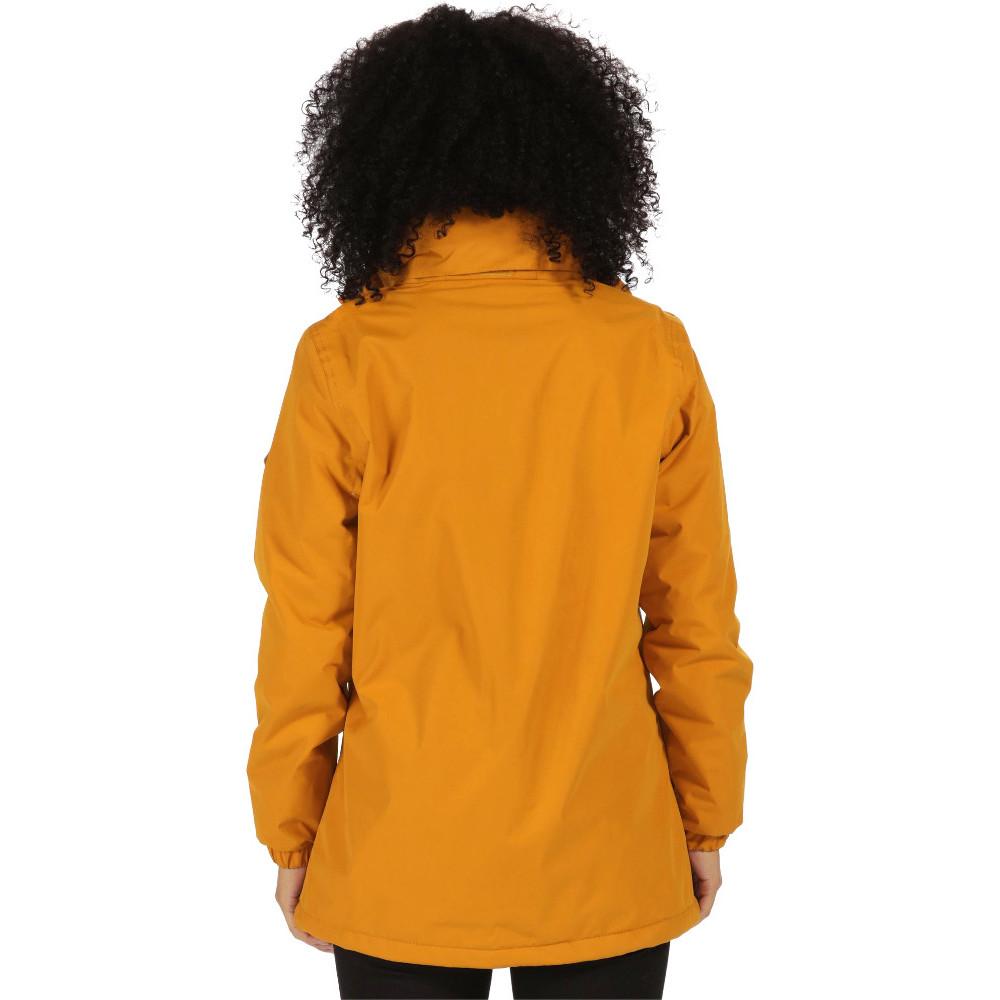 Regatta Womens/ladies Myrtle II Waterproof Walking Jacket 22 Gold ...