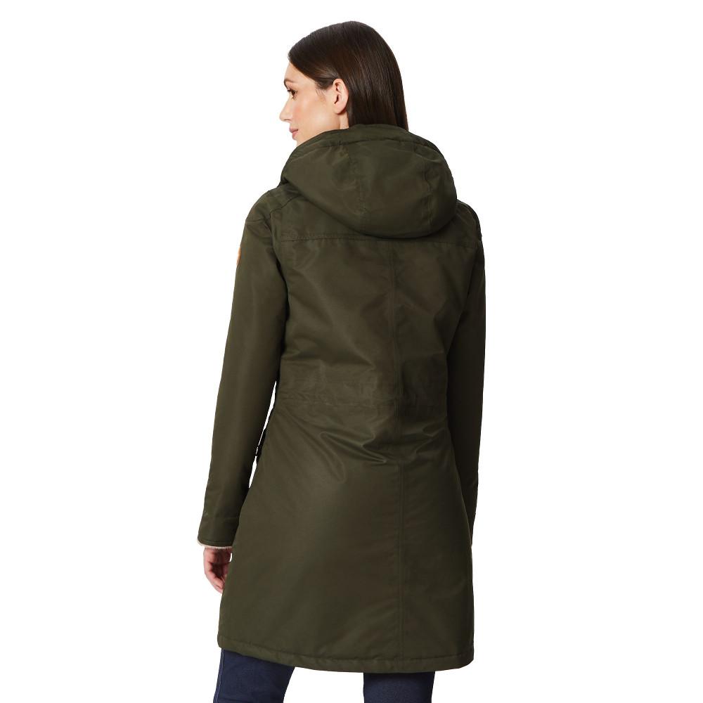 Regatta-Womens-Ladies-Romina-Breathable-Waterproof-Long-Length-Jacket miniatuur 14