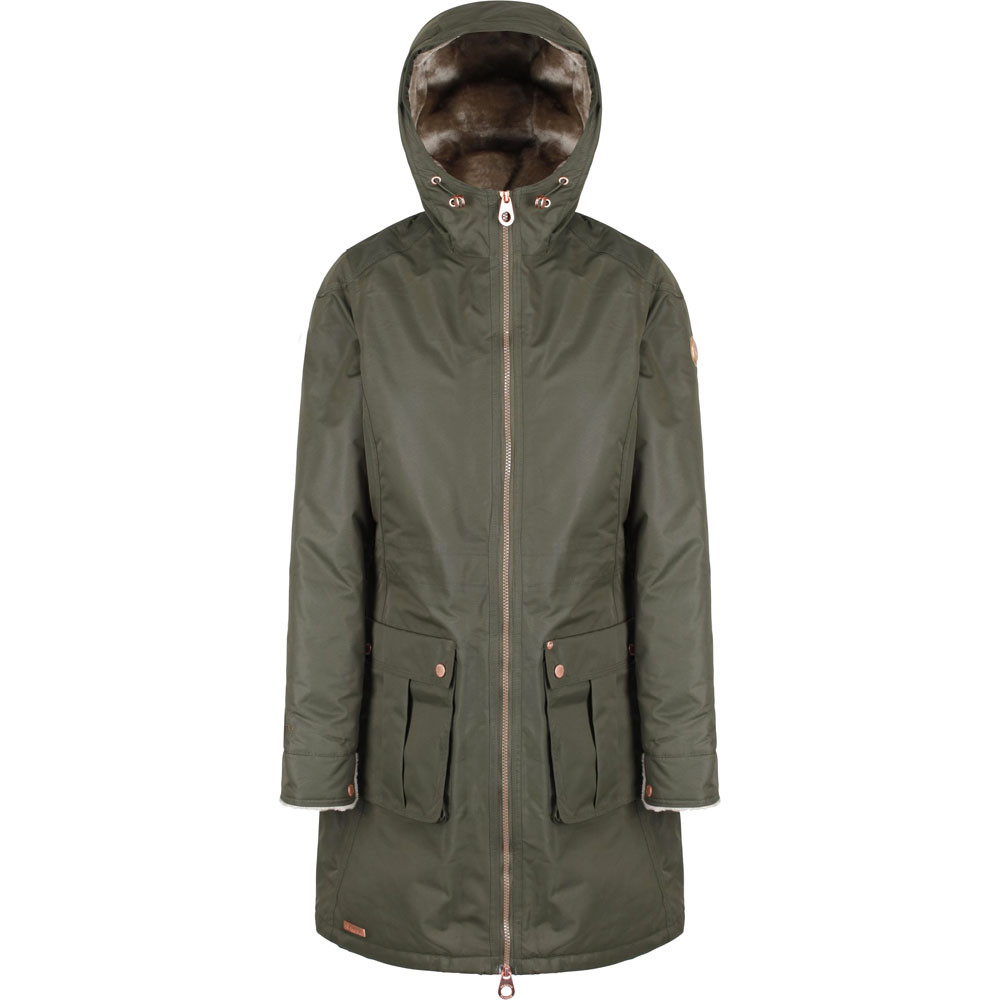 Regatta-Womens-Ladies-Romina-Breathable-Waterproof-Long-Length-Jacket miniatuur 15