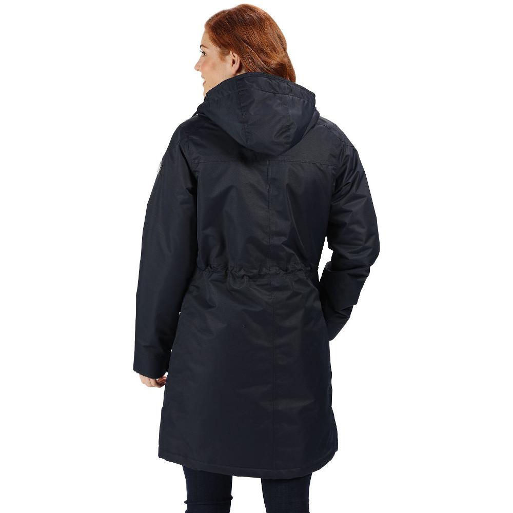 Regatta-Womens-Ladies-Romina-Breathable-Waterproof-Long-Length-Jacket miniatuur 22