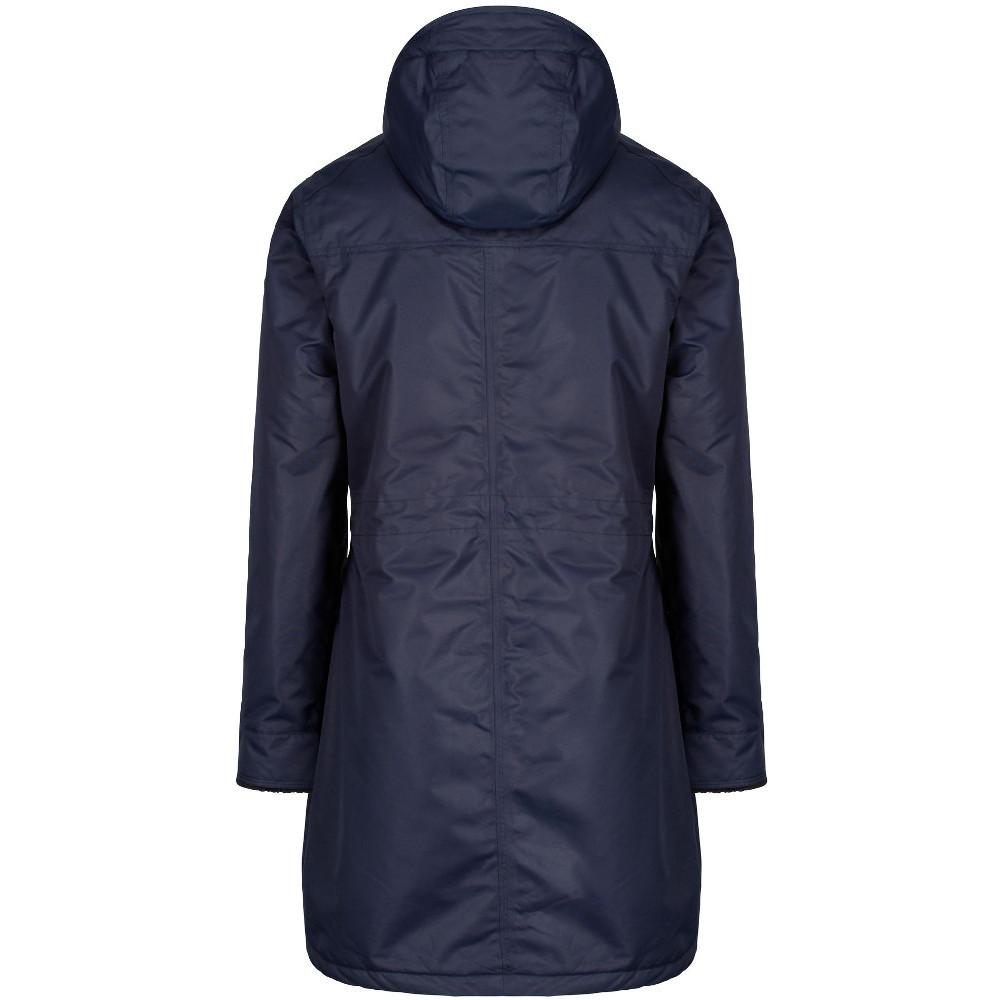Regatta-Womens-Ladies-Romina-Breathable-Waterproof-Long-Length-Jacket miniatuur 24