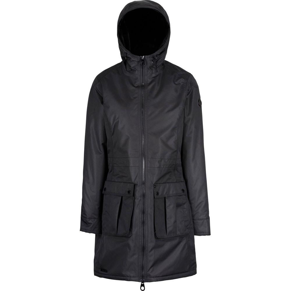 Regatta-Womens-Ladies-Romina-Breathable-Waterproof-Long-Length-Jacket miniatuur 11
