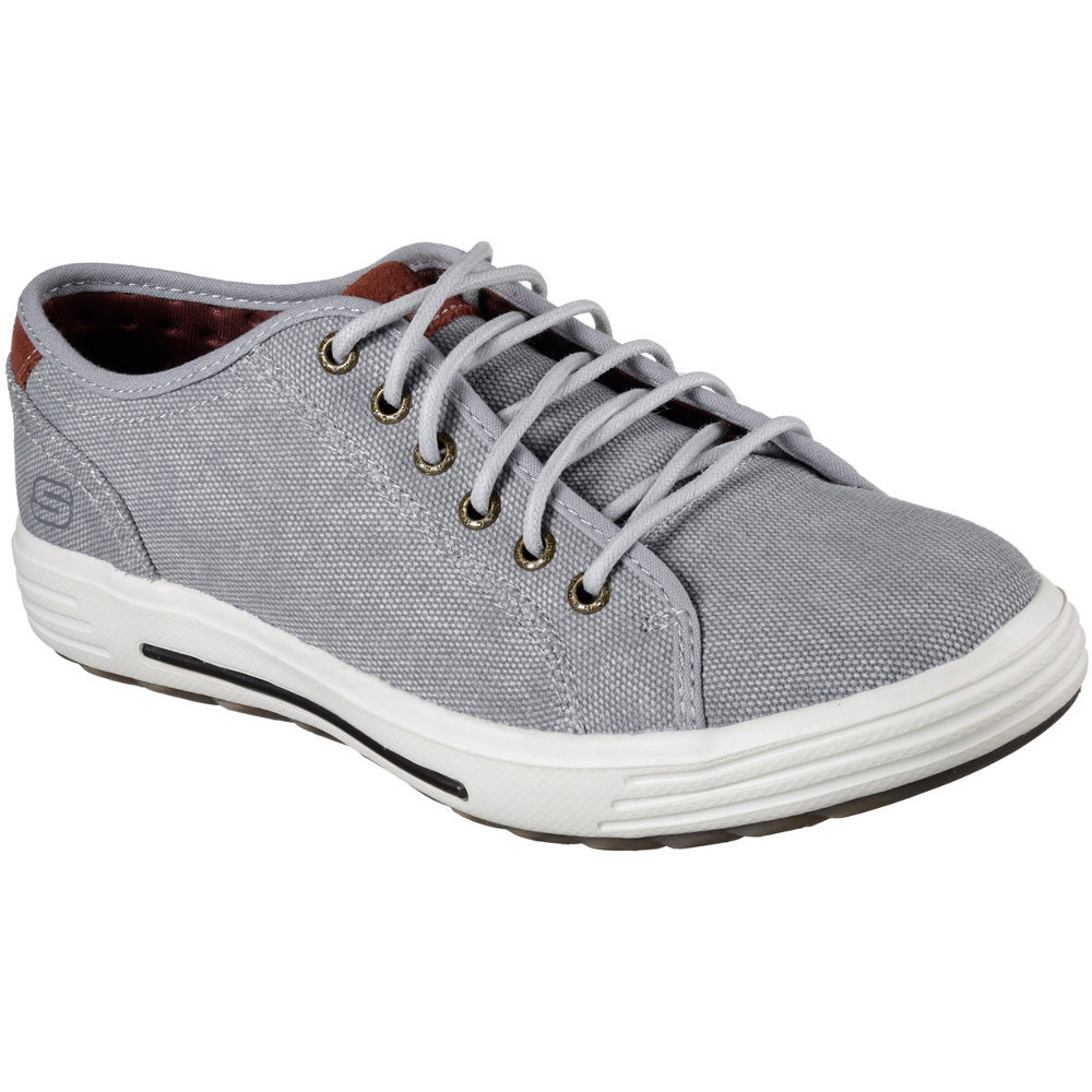 Skechers Mens Porter Meteno Low Profile Textile Canvas Casual Sneakers Tyx97Vh