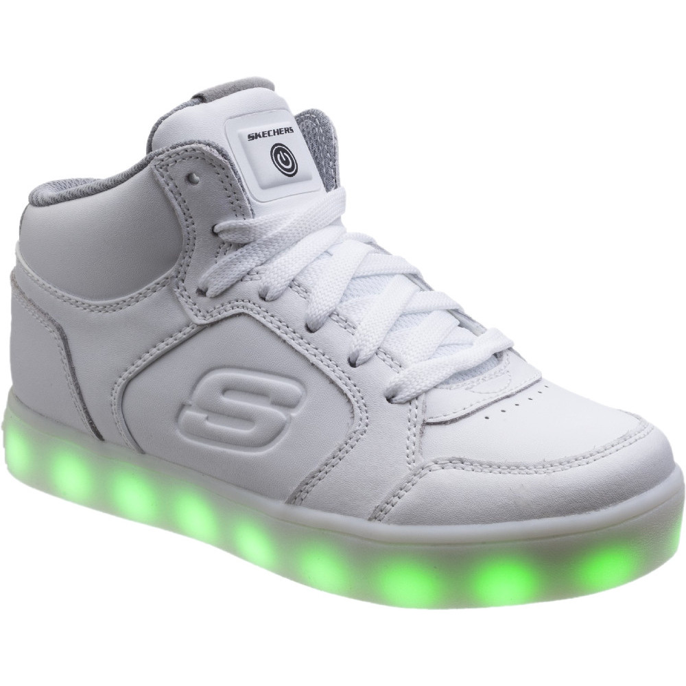 skechers shoes light up white. Skechers-Boys-amp-Girls-Energy-LED-USB-Light- Skechers Shoes Light Up White Y