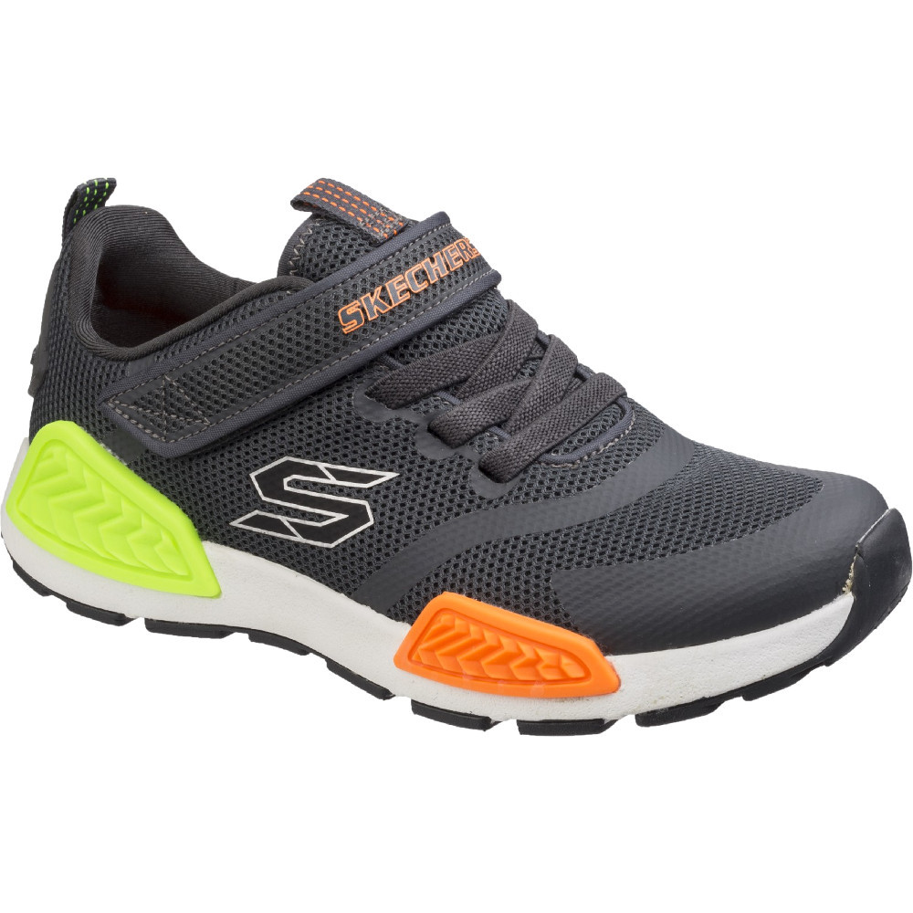 Skechers Boys   Girls Kinectors Lightweight Stretch Trainers Shoes ... 76652c8905
