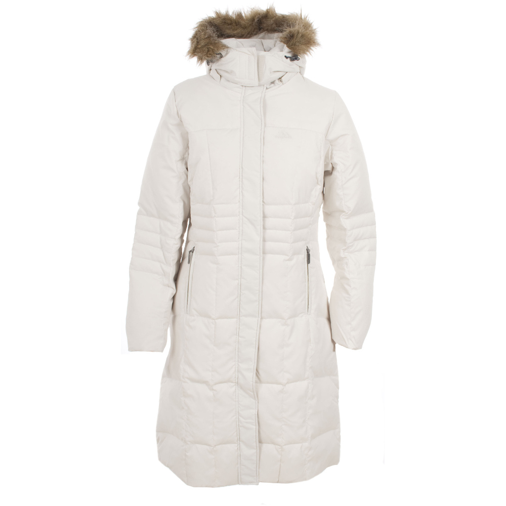 Down feather jacket women