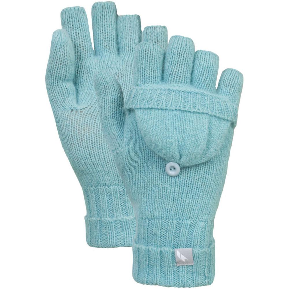 Trespass Womens/Ladies Tussock Mitt-Cover Fingerless Knitted Gloves eBay