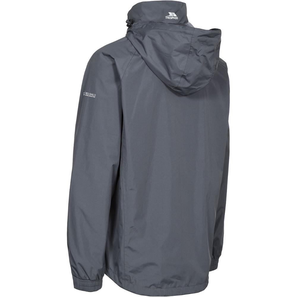 Trespass-Para-Hombre-Nabro-II-Impermeable-a-Prueba-de-Viento-Lluvia-chaqueta-de-cascara miniatura 7