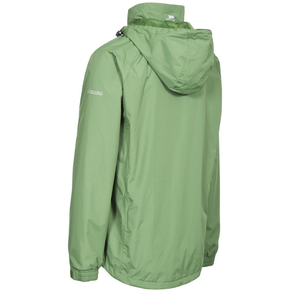 Trespass-Para-Hombre-Nabro-II-Impermeable-a-Prueba-de-Viento-Lluvia-chaqueta-de-cascara miniatura 11