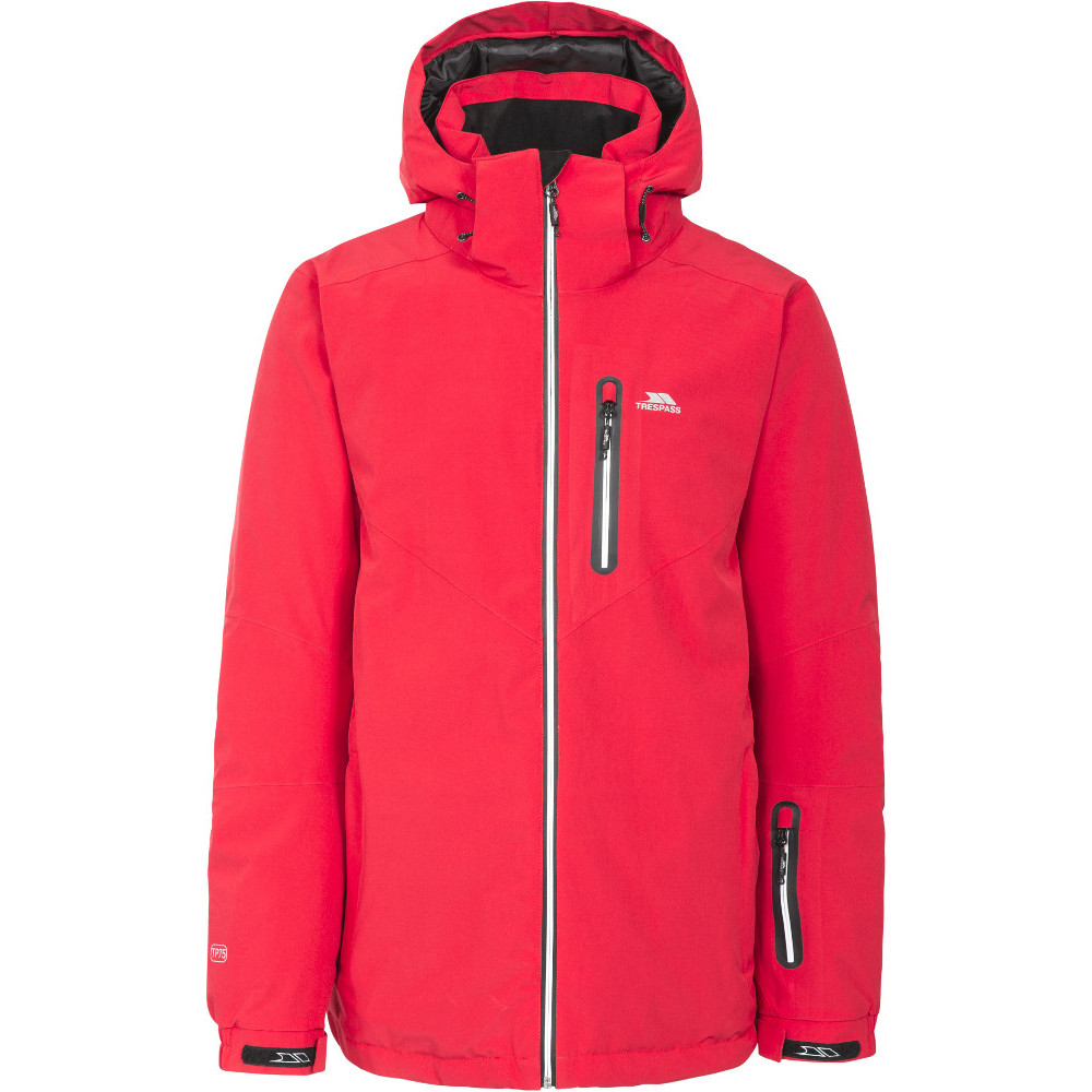 7f7101edc Trespass Mens Duall Waterproof Breathable Padded Shell Ski Jacket Coat
