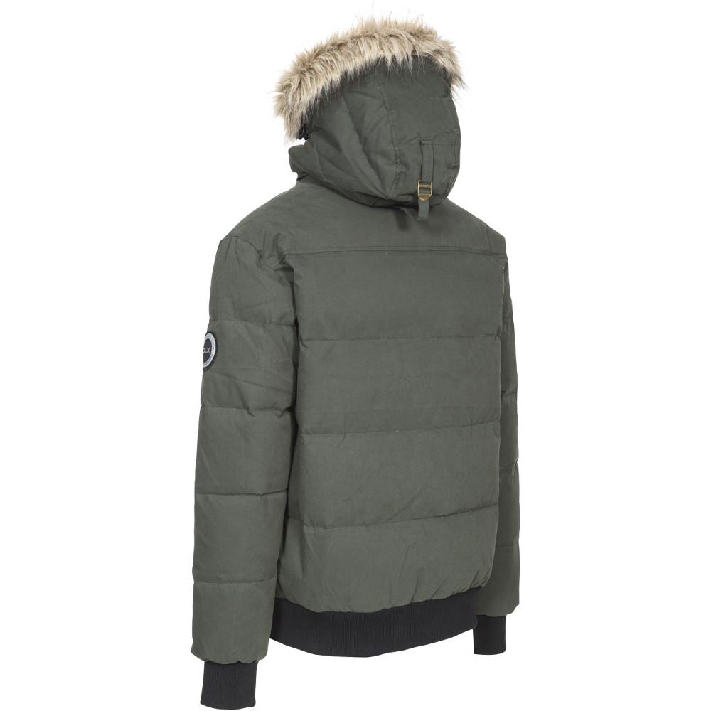 Trespass-Mens-Calgary-Hooded-Padded-Synthetic-Duck-Down-Jacket-Coat thumbnail 9