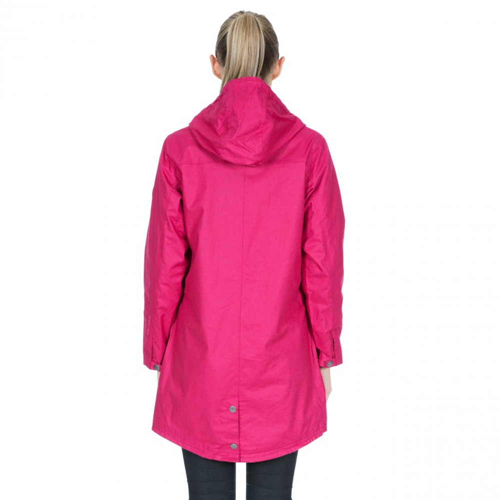 Trespass Womens Sprinkled TP75 Waterproof Hooded Parka Coat