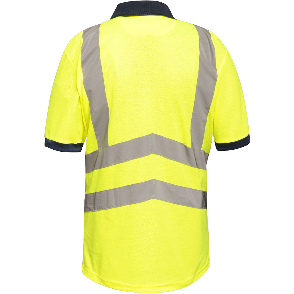 Regatta-Mens-Hi-Vis-Pro-Quick-Dry-Wicking-Work-Polo-Shirt thumbnail 9