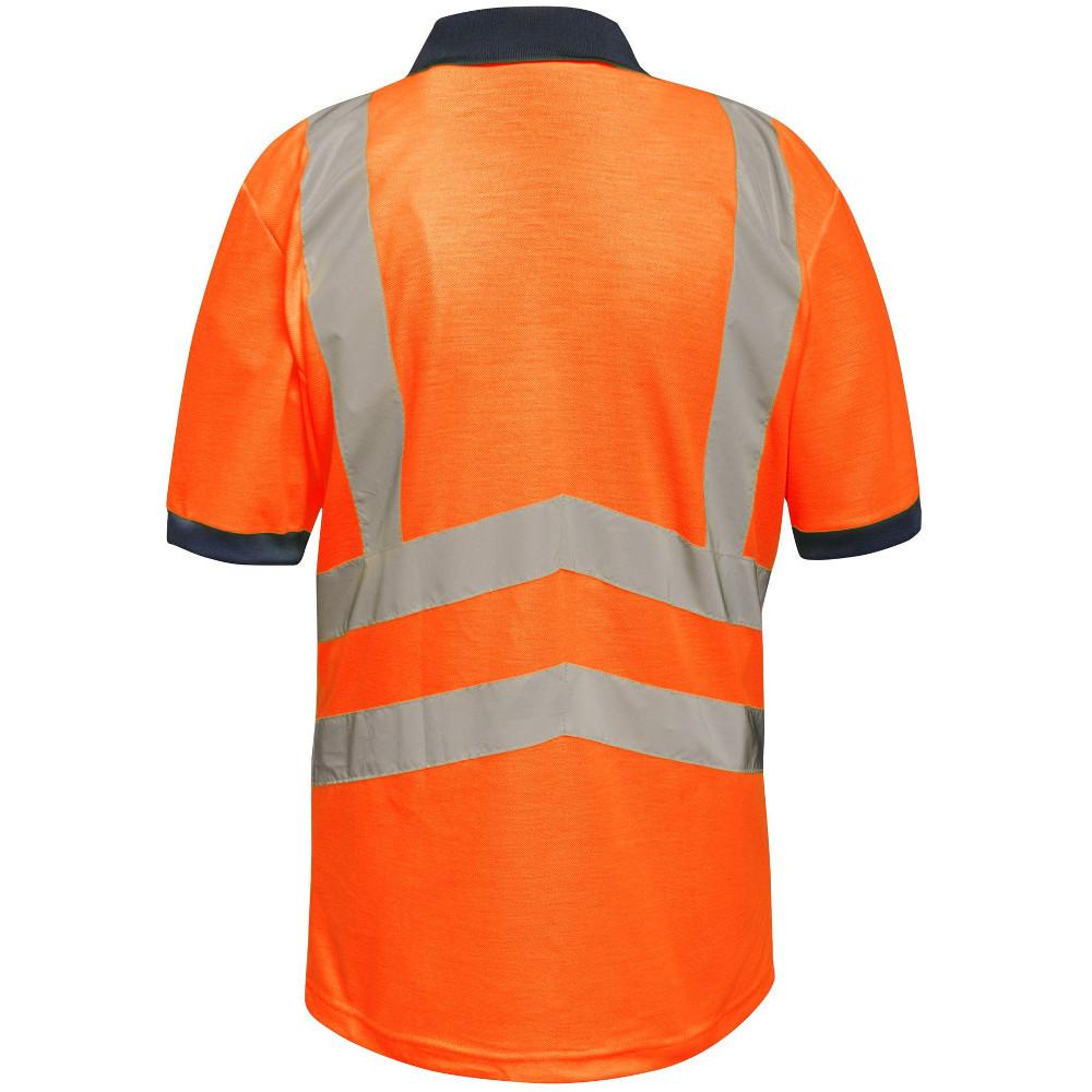 Regatta-Mens-Hi-Vis-Pro-Quick-Dry-Wicking-Work-Polo-Shirt thumbnail 7