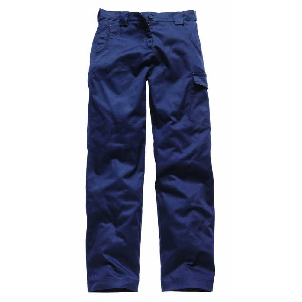 Innovative  Pants Women39s Navy FP223 DN Stain Release Straight Cargo Pants