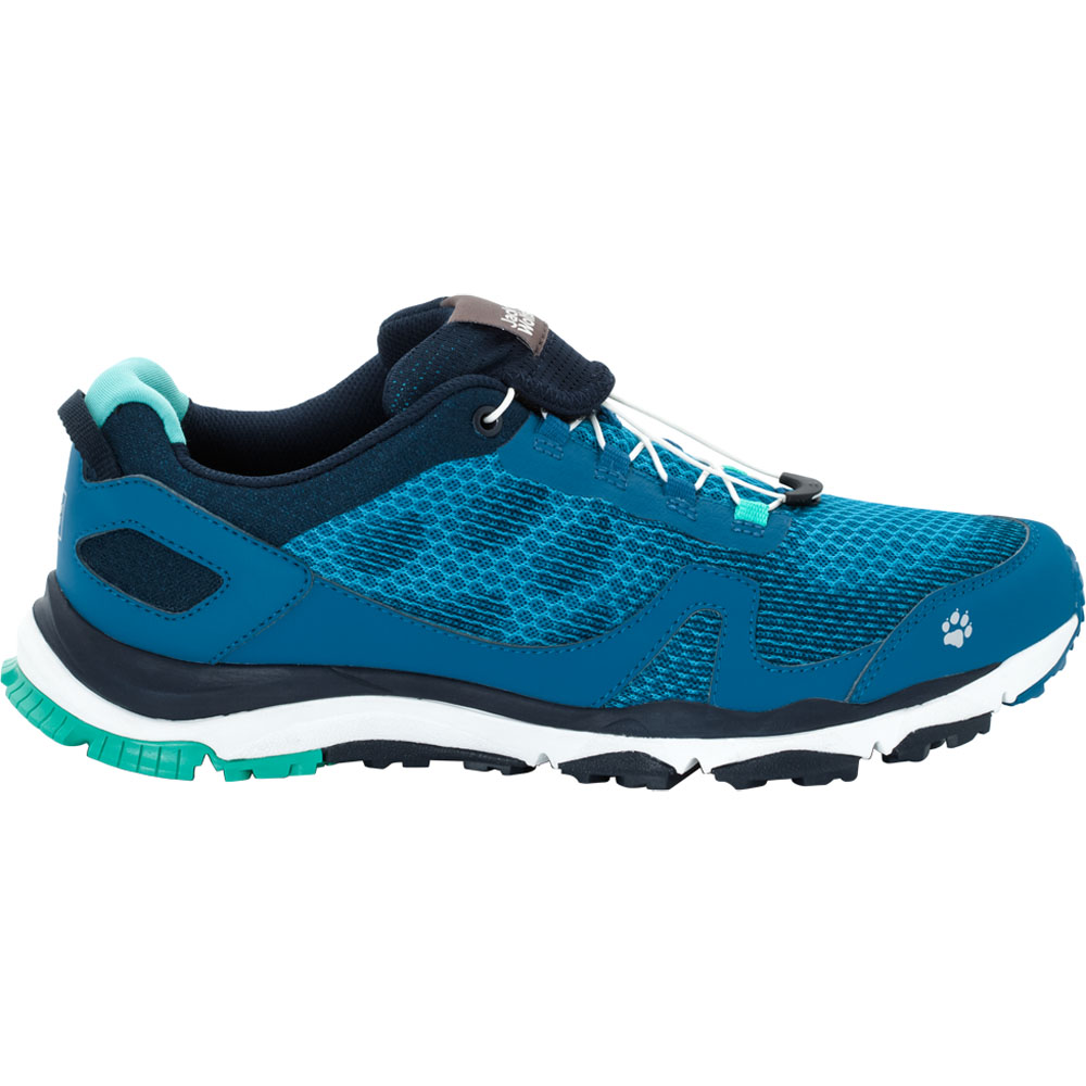 Jack Wolfskin Mens Storm Breeze Low Breathable Trail Running Shoes